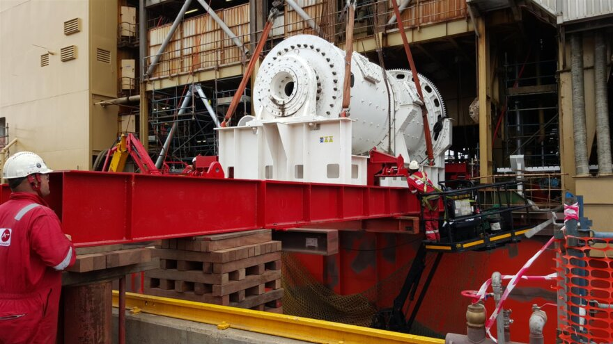 ALE Ball Mill Installation
