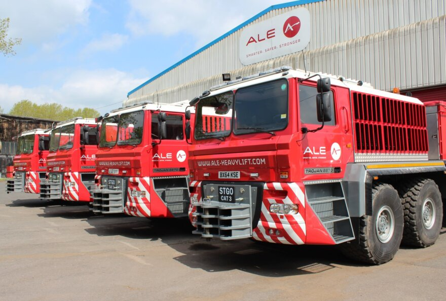 ALE Completes Build of the Trojan Trucks