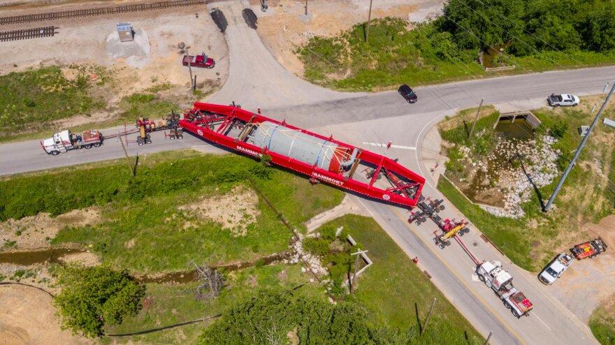 Mammoet Multi-State & Multi-Modal Transport