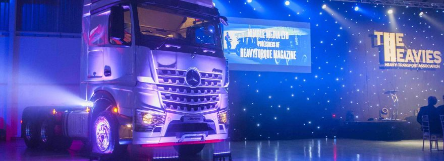 Mercedes-Benz Takes Centre Stage at the Heavies Awards
