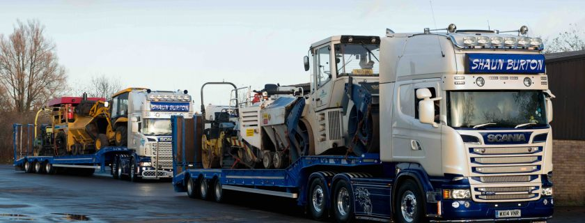 Shaun Burton Transport Stands out with Andover Trailers