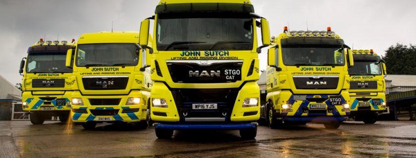 John Sutch Cranes MAN TGX 26.560 D3