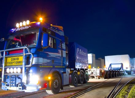 P. Adams Twelve Heavy Haulage Journeys in Four Days