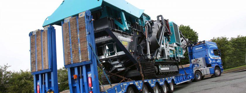 Mar-Train Five-Axle Extending Step Frame