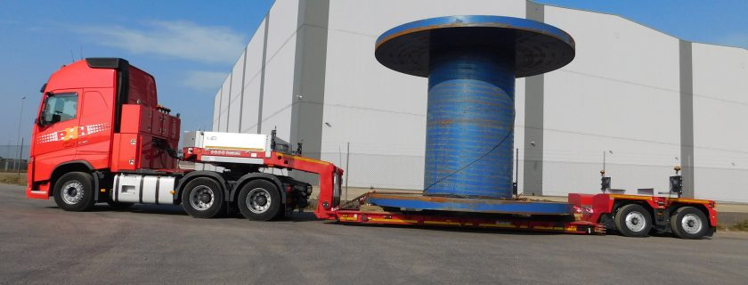 Potteries Heavy Haulage Unveil Goldhofer Low Loader