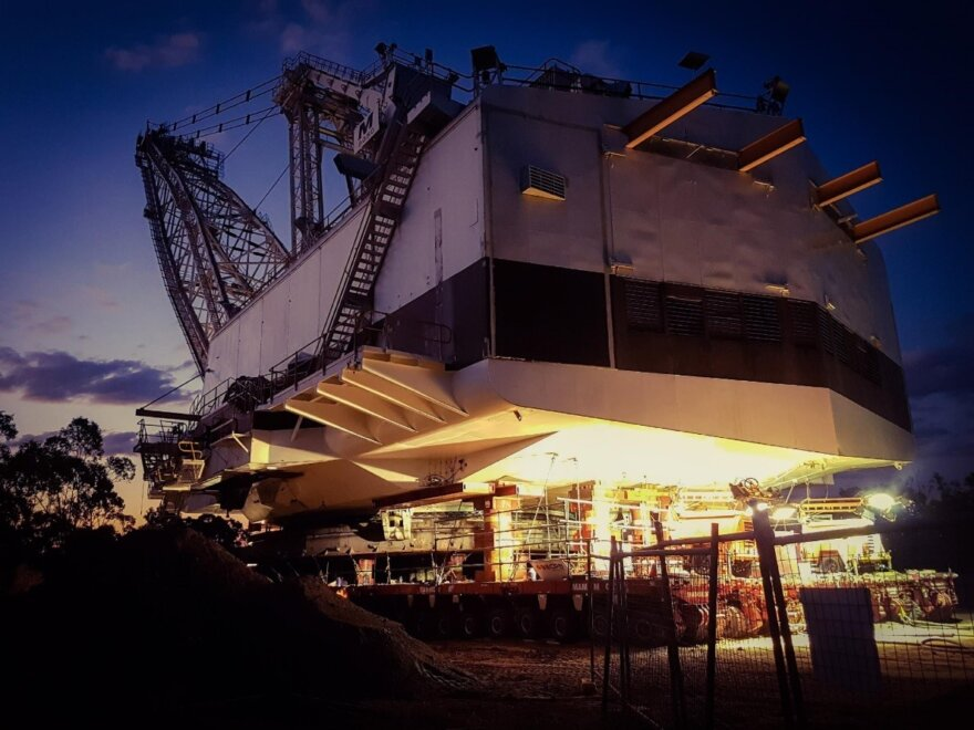 Mammoet Complete First Australian Dragline Project