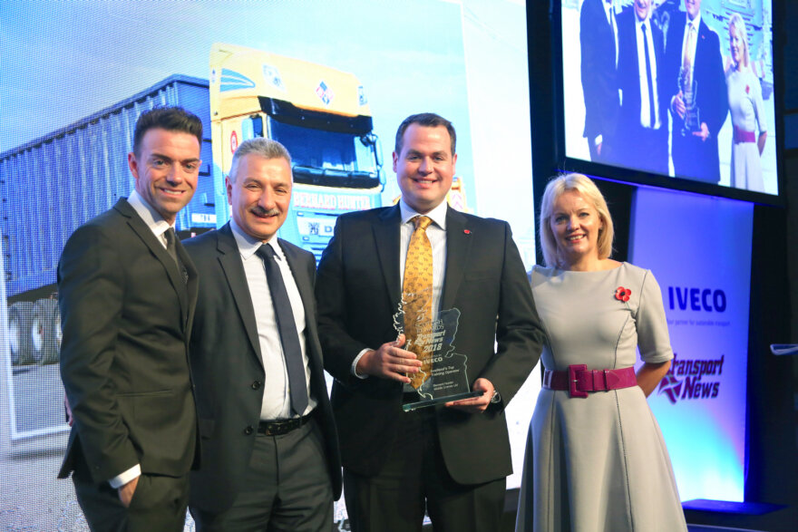 Bernard Hunter Mobile Cranes Industry Training Award