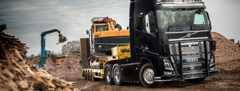 Volvo Tandem Axle Lift for East Anglian Resources