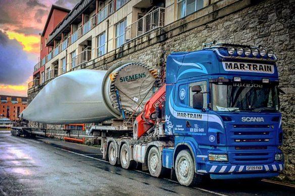 Derek O'Toole - Mar-Train Heavy Haulage Scania