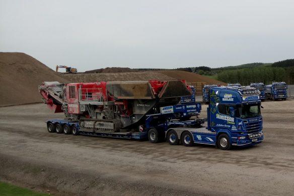Gary Hutchinson - Jamieson Heavy Haulage Scania