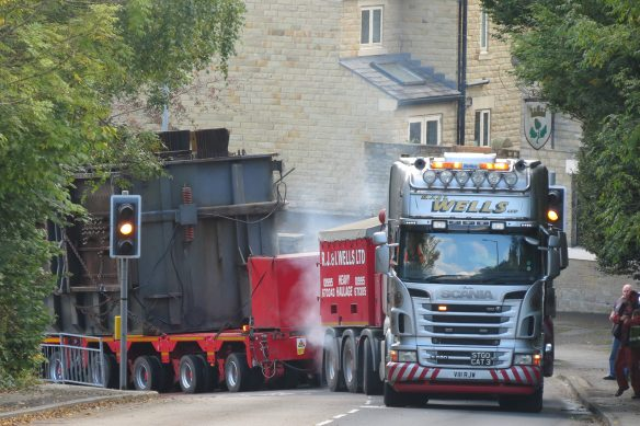 Kevin Wells - R J & L Wells Heavy Haulage Scania