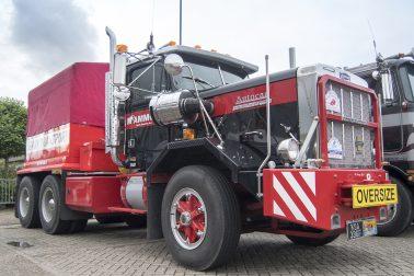 Mammoet Vintage Heavy Haulage Trucks