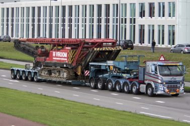 Vroom Heavy Transport Truck & Trailer Exhibition