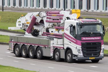 The Outstanding Partner PAC100 Crane Truck