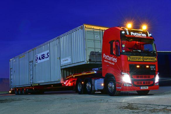 Steve Pearson - Potteries Heavy Haulage Volvo
