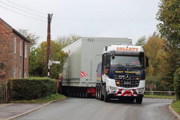 Tom Evans - Collett & Sons Heavy Transport Mercedes