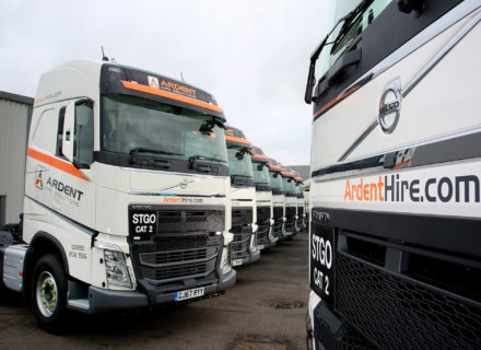 Ardent Hire Solutions 32 New Volvos