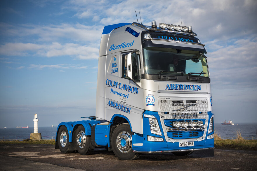 Volvo FH-500 for Colin Lawson Transport