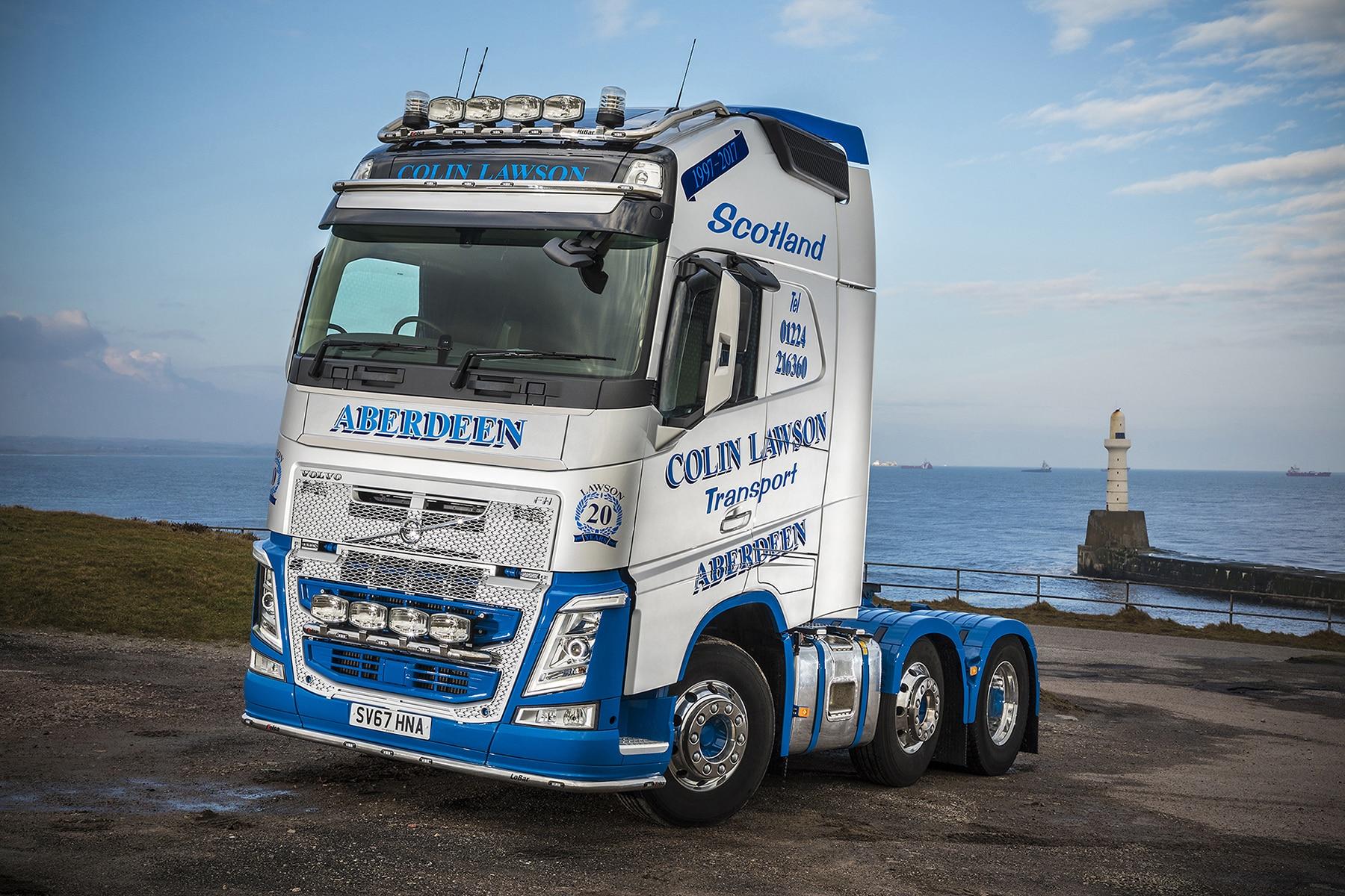 Volvo FH-5000 for Colin Lawson Transport
