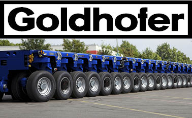 Goldhofer, SPMT, heavy haulage, trailer manufacturer, innovation