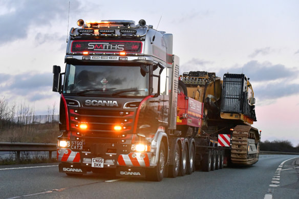Steve Pearson, COTQ, competition, Scania, V8, Smiths Heavy Haulage
