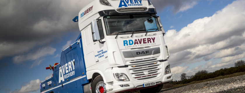 DAF XF Recovery Unit for RD Avery