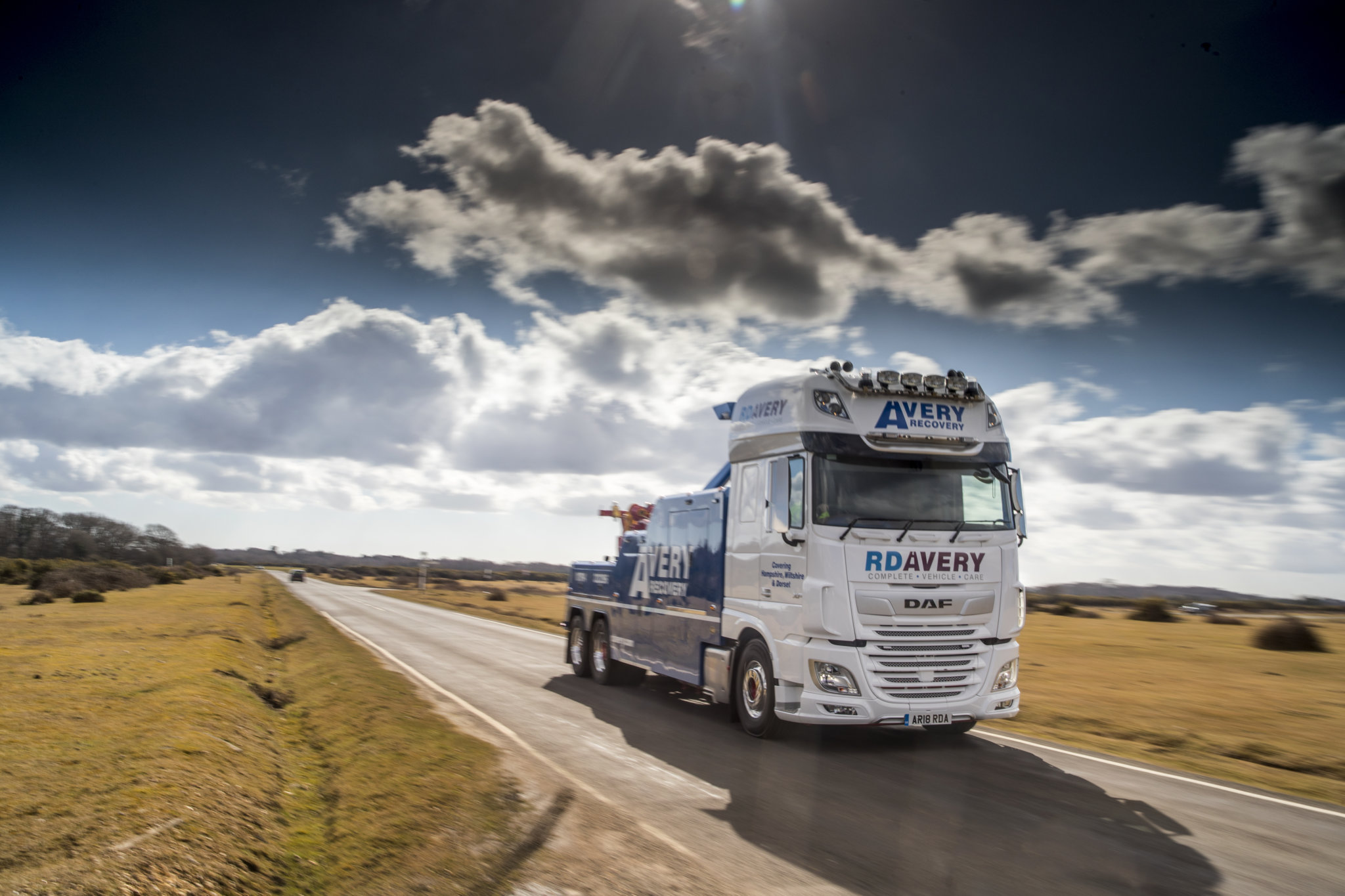 RD Avery New DAF XF