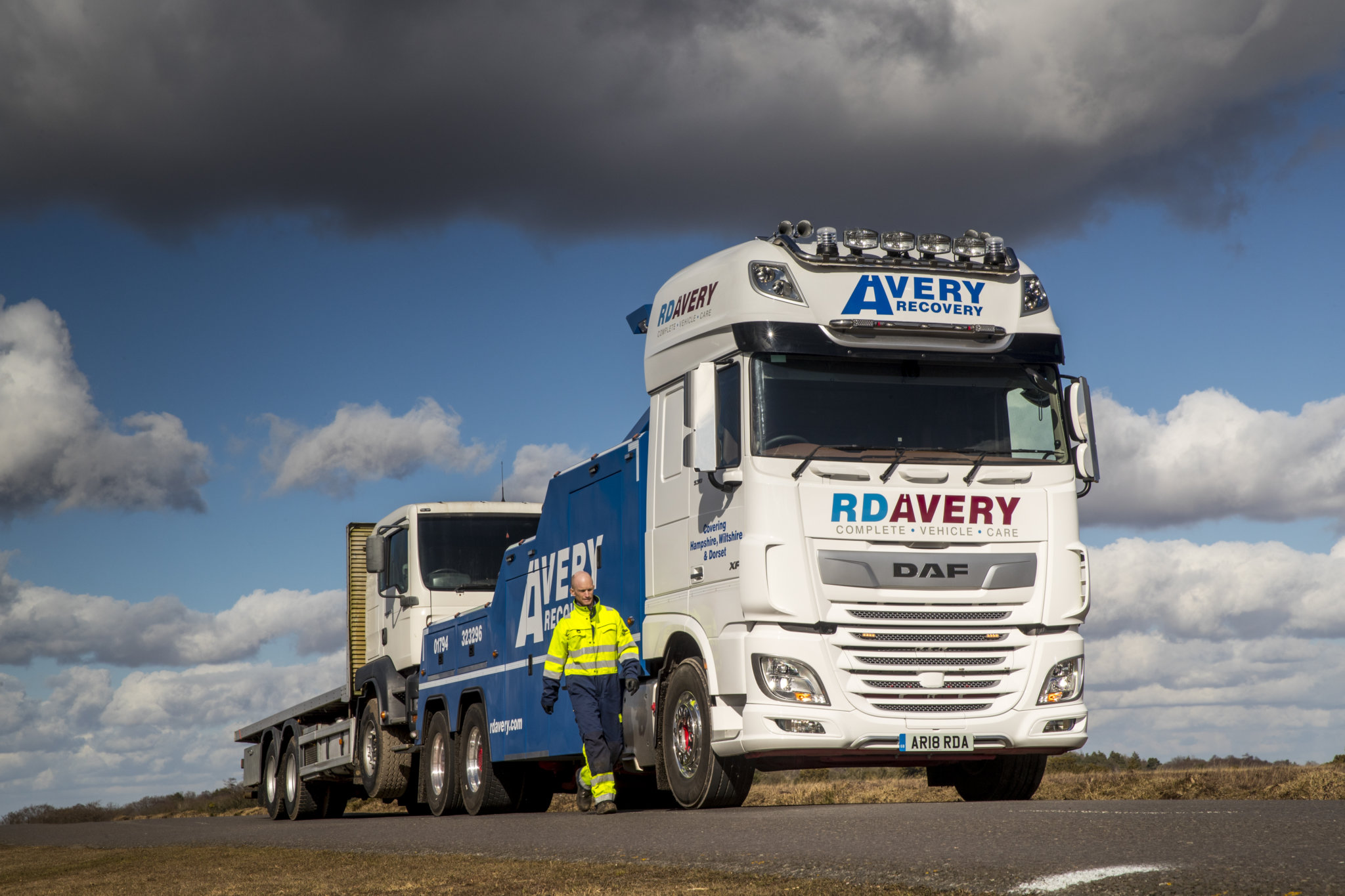 DAF XF for RD Avery