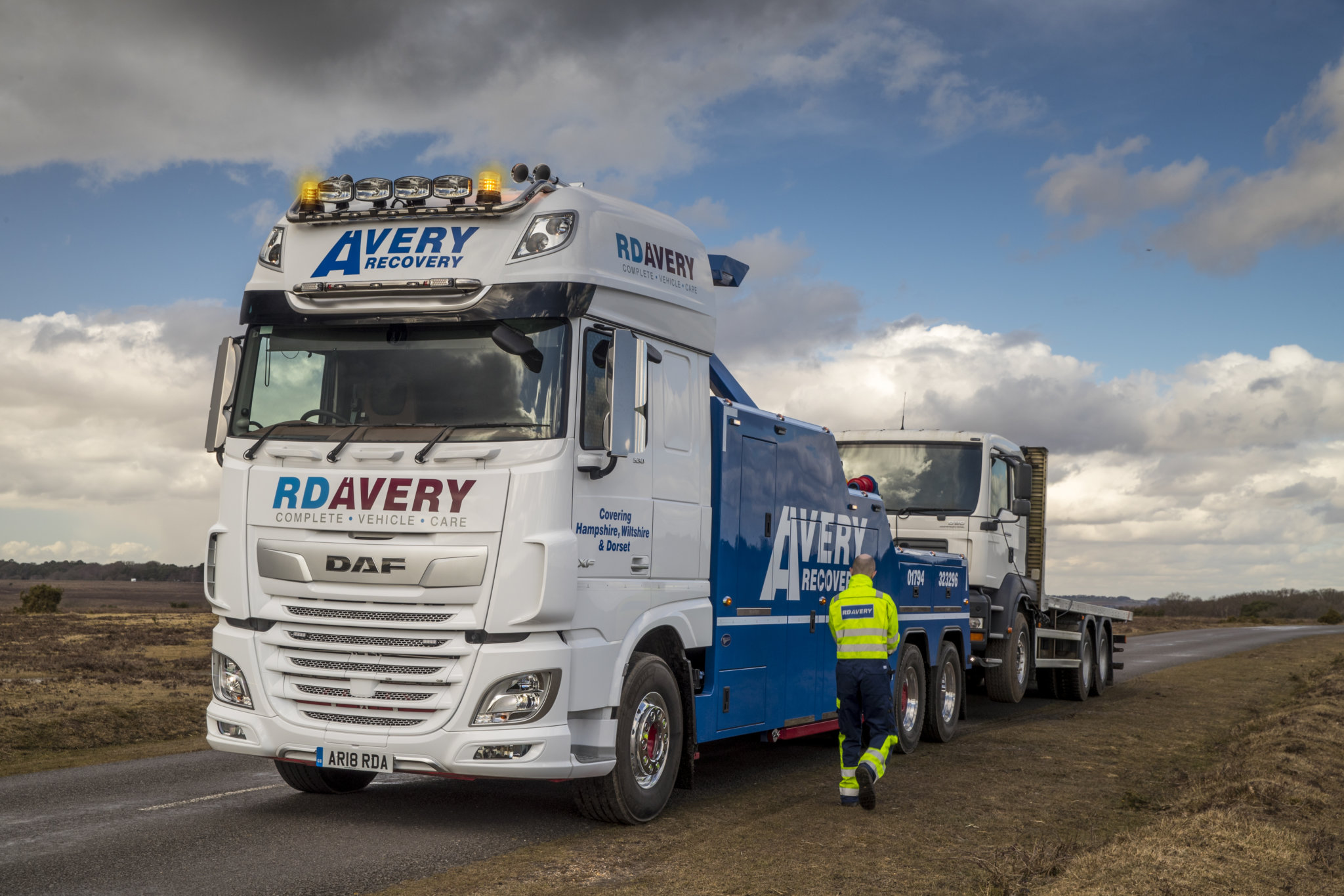 RD Avery Launch DAF XF