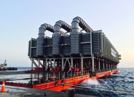 ALE, Evaporator, World Record, heavylift, heavylifting, Shoaiba Desalination Plant, Andrew Spink