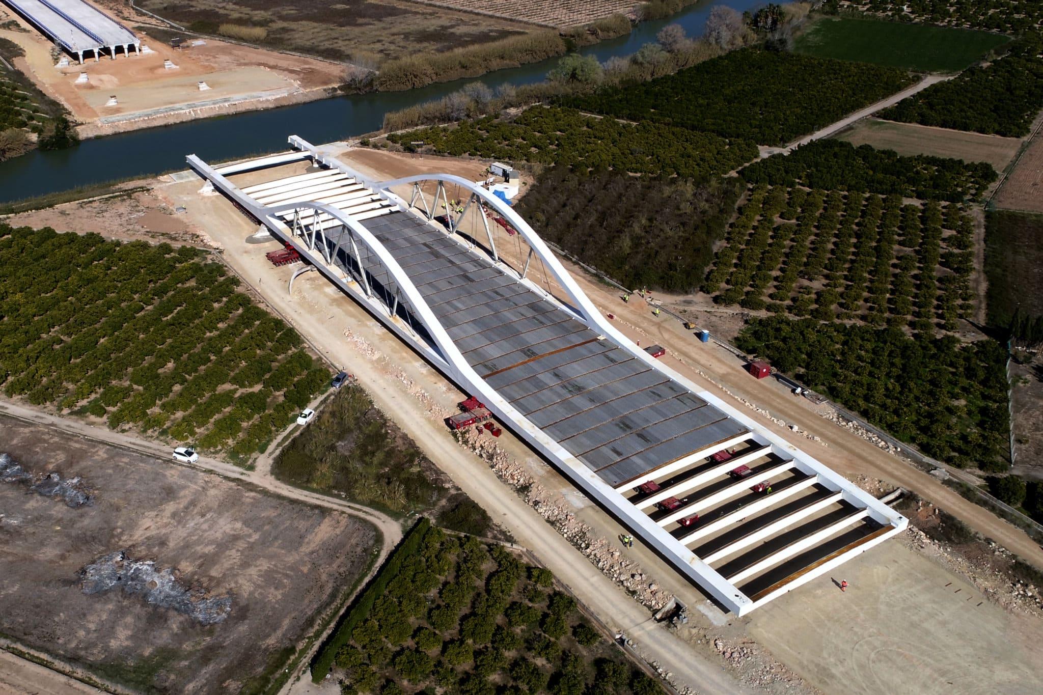 Spanish Highway Bridge Launch