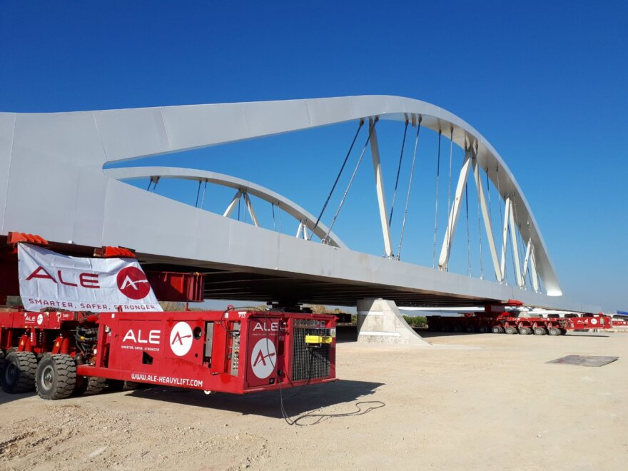ALE Bridge Launch for Spanish Highway