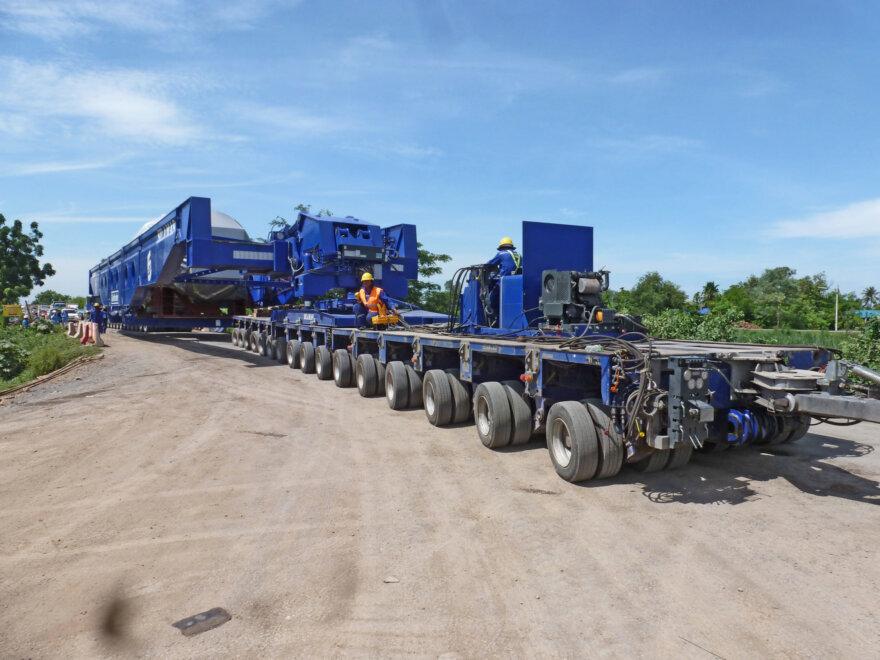 HeavyTorque, Silamas, Goldhofer, THP/SL-L axle lines