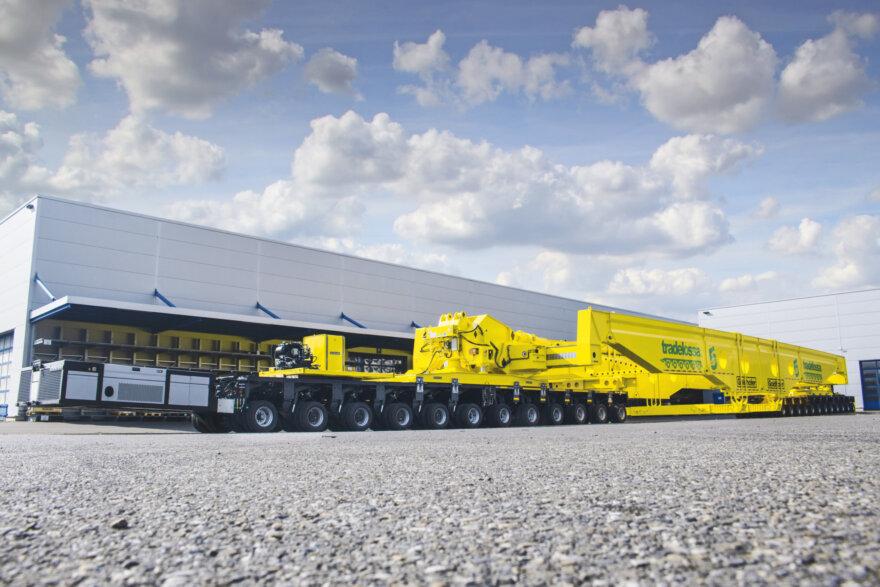Tradelossa, Faktor 5, Goldhofer, axle lines, specialist transport, girder frame