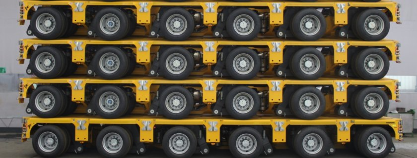Cometto, Hareket, heavy haulage, axle lines, MGSL, specialist transport