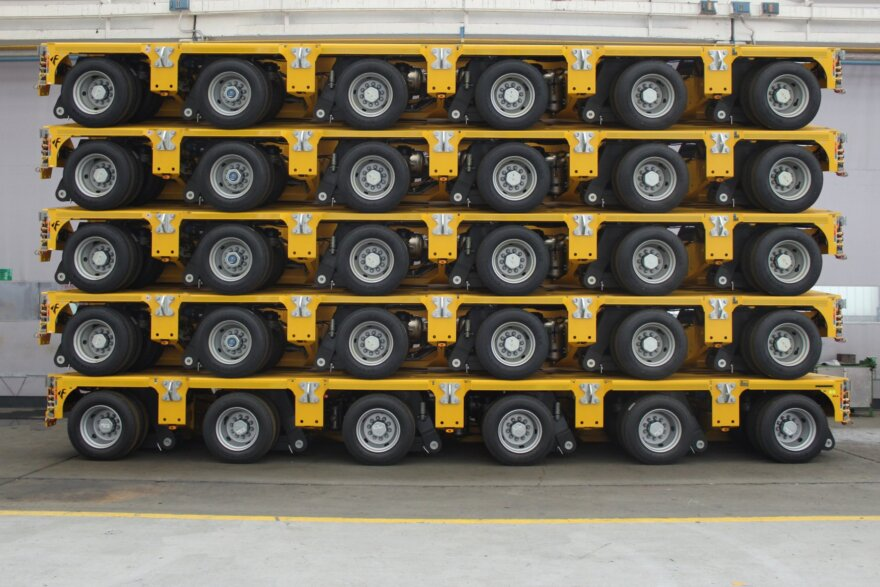 Cometto, Hareket, heavy haulage, axle lines, MGSL, specialist transport