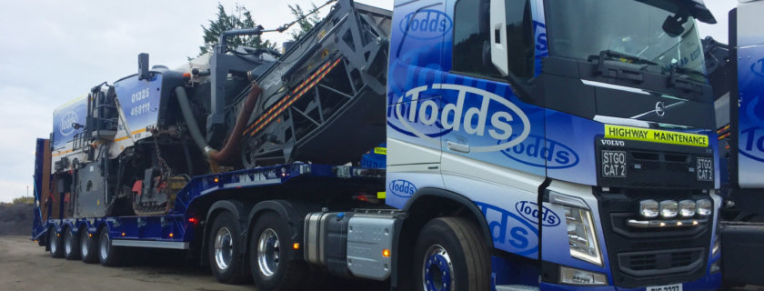 Todds Highway Maintenance, Andover Trailers, Step Frame, Trailer, Graeme Todd, BPW