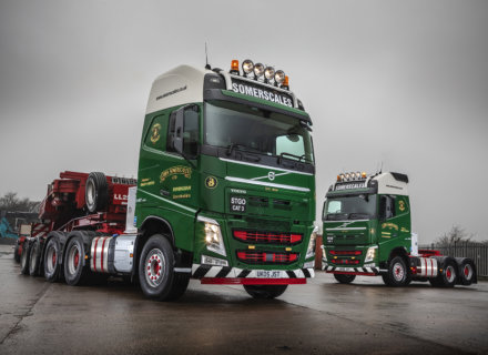 John Somerscales, heavy haulage, specialist transport, abnormal loads, volvo trucks, STGO