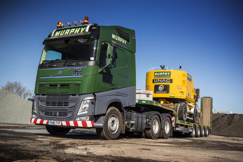 heavy haulage, Murphy Group