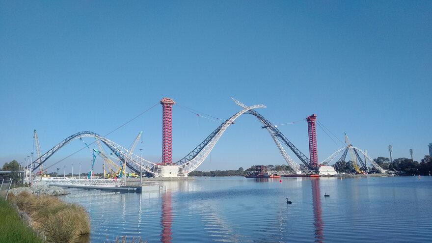 ALE Perth Bridge Install