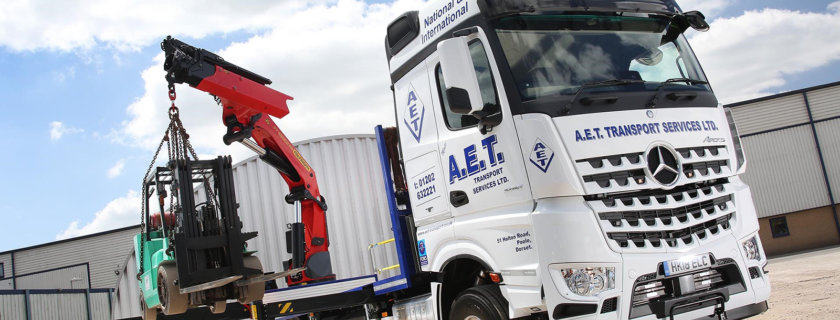 AET Transport first Mercedes-Benz