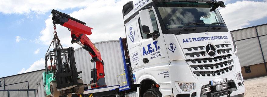 AET Transport first Mercedes-Benz