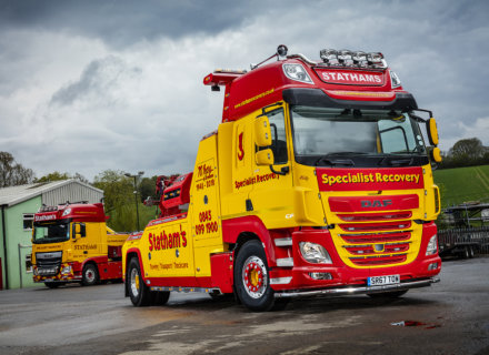 Stathams Motor Engineers DAF CF