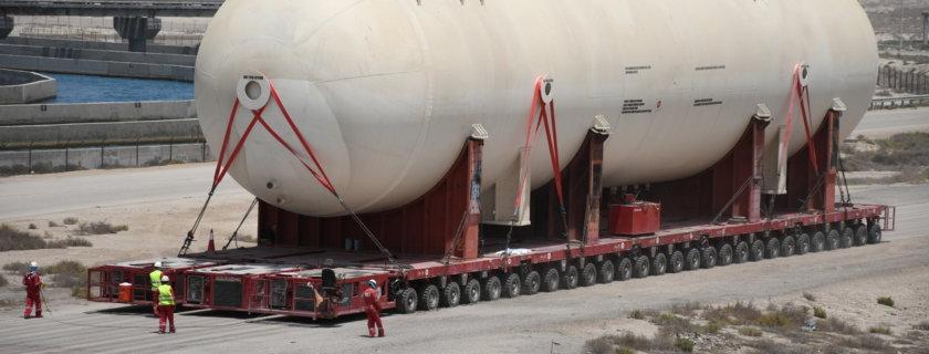 ALE's Heaviest Ever Convoy in Saudi Arabia