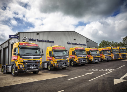 Volvo Trucks, Readypower Rail Services