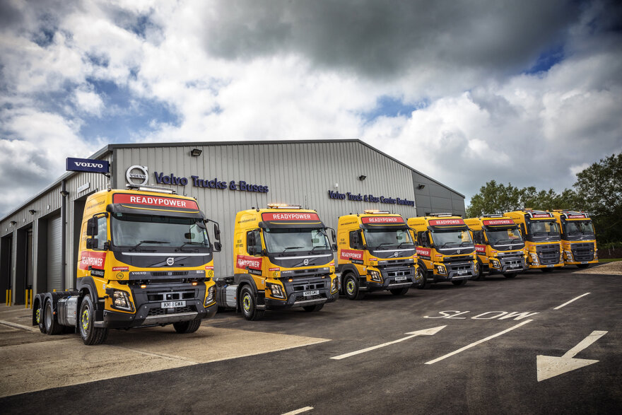 Readypower Rail Services New Volvo Trucks