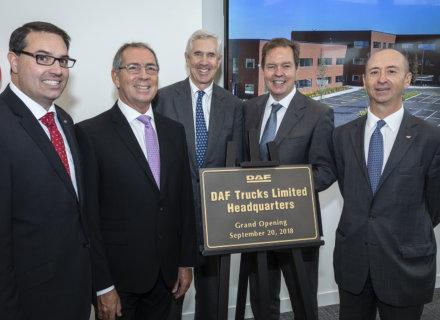 DAF Trucks opens new UK Headquarters