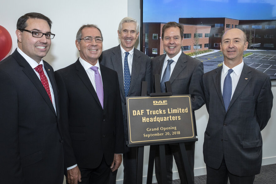 DAF Trucks opens new UK Headquarters