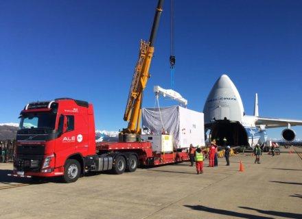 ALE Delivers Conae Satellite