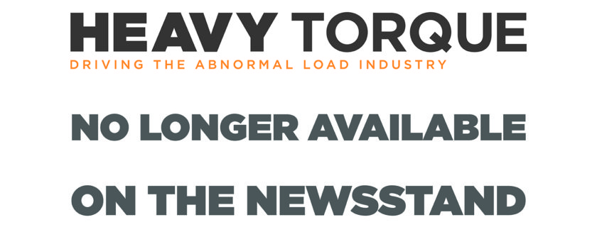 HeavyTorque, magazine, subscription, specialist transport, abnormal load